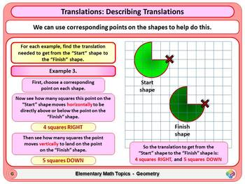 Translations for Elementary School Math