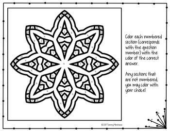 translations on a coordinate plane math color by number quiz tpt. Black Bedroom Furniture Sets. Home Design Ideas