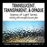 Translucent, Transparent, Opaque Exploratory Learning Lesson