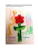 Translucent Wycinanki Corn Poppy Flowers