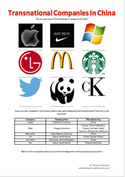 Transnational Companies In China