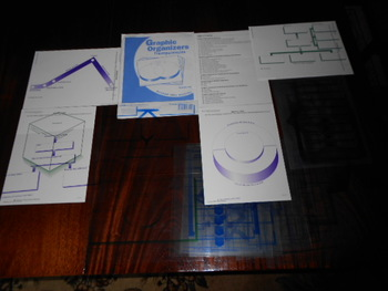 McGraw-Hill Reading Grades 1-6 GRAPHIC ORGANIZERS Transparencies 40 Sheets MINT