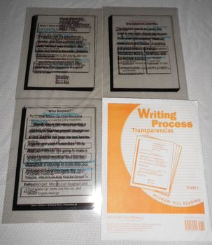 Writing Lessons Transparencies GRADE 1 Persuasive, Expository, Story McGraw-Hill