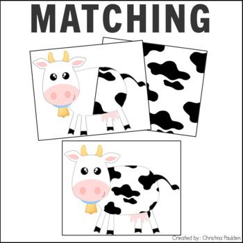 Transparent Animal Matching Cards