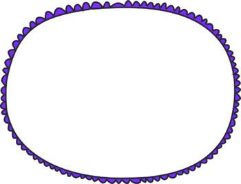 Transparent Doodle Frames - 300 dpi - 14 total