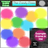 Free Transparent Graffiti Frames Clipart by The Candy Class