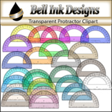 Transparent Protractor Clipart