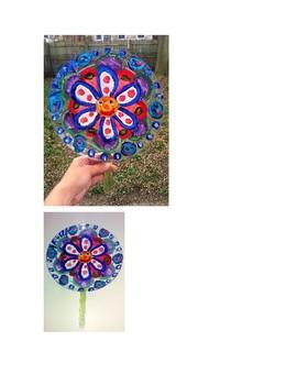 Transparent Spring Flower Suncatcher