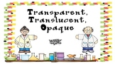 Transparent, Translucent, Opaque Powerpoint