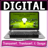 Transparent, Translucent, and Opaque - Digital Resource for Google Classroom
