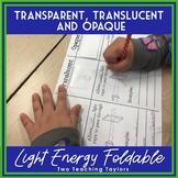 Light Energy Interactive Foldable: Transparent, Translucen