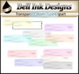 Transparent Washi Tape Clipart