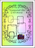 Transparent Wire & Dot Frames Clipart (Embellish Yourself Artworks)