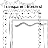 Transparent Worksheet Borders