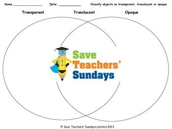 original 1011536 2 transparent, translucent or opaque lesson plan and worksheets (venn