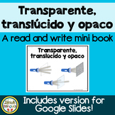 Transparente, translúcido y opaco ~ Transparent, Translucent and Opaque