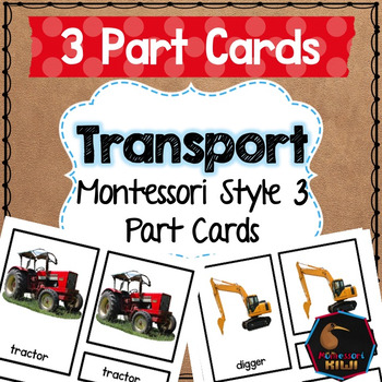 Transport 3 part cards