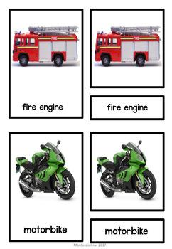 Transport 3 part cards