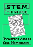 Transport Across Cell Membranes Middle School Biology Doodle Notes