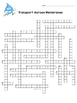 Cell Transport Crossword (Osmosis, Diffusion)