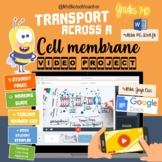 Transport Across a Cell Membrane Video Project - Distant Learning