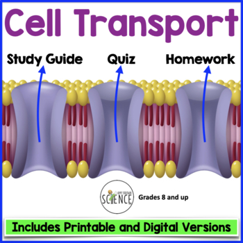 Cell Transport Quiz  (Osmosis, Diffusion)