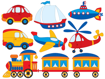 Transport Clipart - Digital Vector Transport
