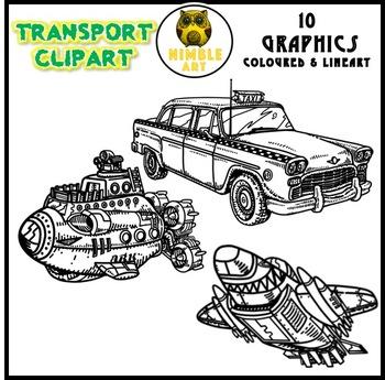 Transport Clipart (Vehicles)