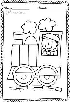 Transport Coloring pages.