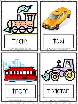 Flashcards Transport and Commute
