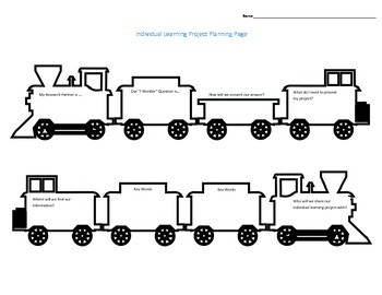 Transport Individual Learning Project Planning Page