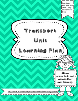 Transport Learning Plan NY Biology (The Living Environment)
