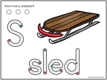 Transport Mats:play dough, reading, writing and syllables