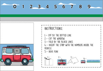 Interactive Number Line - EDITABLE