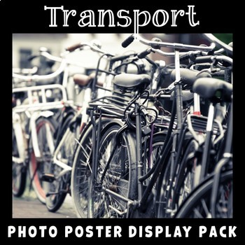 Transport Photo Poster Display Pack