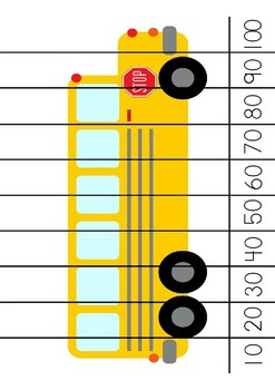 Transport Skip Counting Puzzles