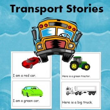 car and transport book/story