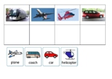 Transport Symbol to Picture Matching