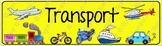 Transport Theme Banner
