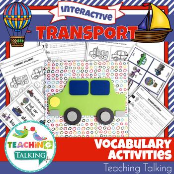 Transport Theme Vocabulary Activities