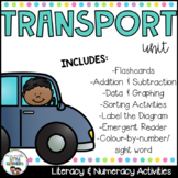 Transport unit - great for distance learning and home school