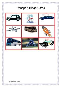Transport Unit of Work