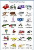 Transport Vocabulary Building Resources for EAL / ESL / ELL