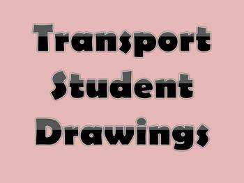 Transport Vocabulary Drawings