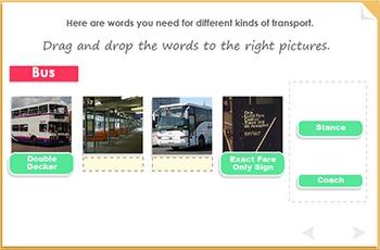 Transport Words