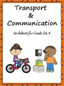 All Worksheets communication worksheets : Transport and Communication- Worksheets for... by Rituparna Reddi ...