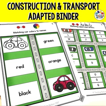 Transport and Construction Adapted Work Folder