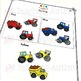 Adapted Work Books for Special Education, Construction and Transport Activities