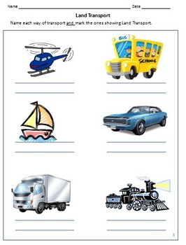 transport and vehicles worksheets for grade 1 by rituparna reddi. Black Bedroom Furniture Sets. Home Design Ideas
