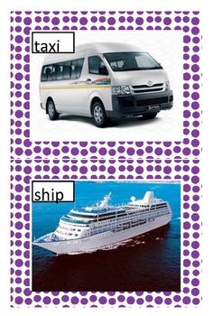 Transport display posters